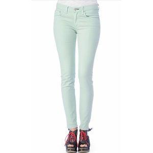 rag & bone/JEAN  mint colored skinny legging jeans
